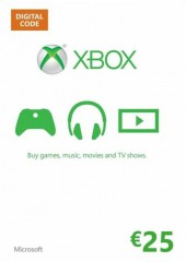 Xbox Live Gift Card Europe 25 EUR