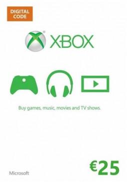 Joc Xbox Live Gift Card Europe 25 EUR pentru XBOX GIFT CARD