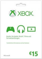 Xbox Live Gift Card Europe 15 EUR