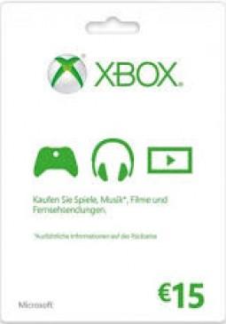 Joc Xbox Live Gift Card Europe 15 EUR pentru XBOX GIFT CARD