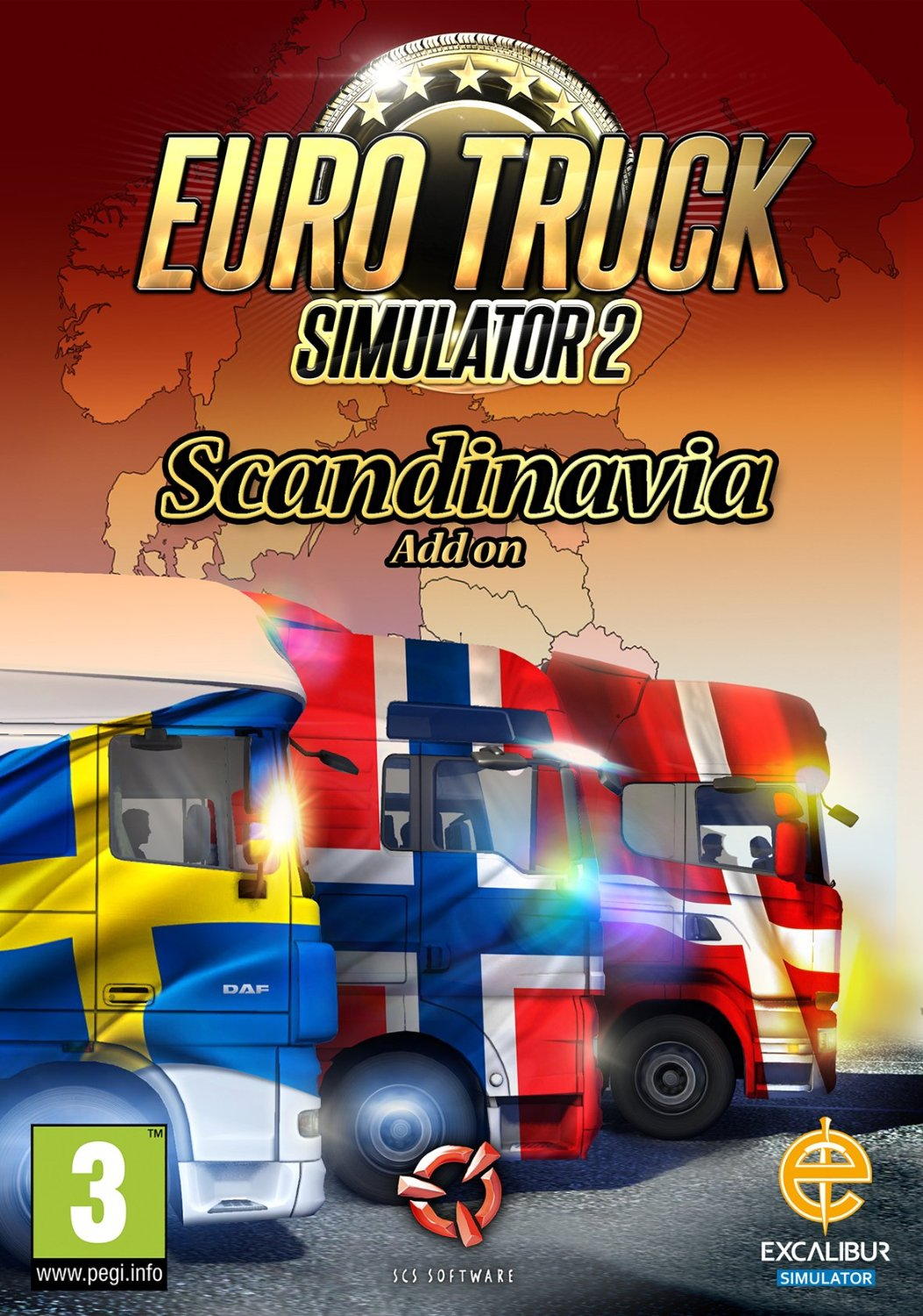 euro truck simulator 2 scandinavia dlc steam cd key. Black Bedroom Furniture Sets. Home Design Ideas